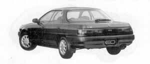 Toyota Carina ED 2.0X 1992 г.