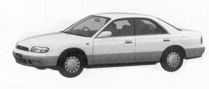 Nissan Bluebird 1800ARX-V 1992 г.