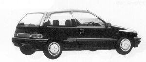 Daihatsu Charade WILL 1.0 3DOOR 1992 г.