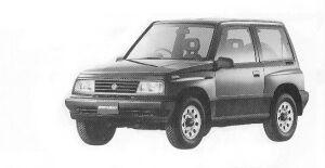 Suzuki Escudo HARD TOP 1992 г.