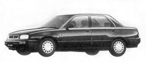 Daihatsu Applause 16SI 1992 г.