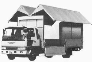 Hino Ranger CRUISING FD 3.25T 1992 г.