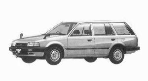 Mazda Familia VAN 4WD 1600 DX 1992 г.