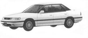 Subaru Legacy 4WD TOURING SEDAN 2.0L VZ 1992 г.