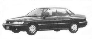 Subaru Legacy 4WD TOURING SEDAN 1.8L TI TYPE S 1992 г.