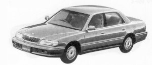 Mitsubishi Debonair EXCEED II 1992 г.
