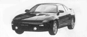 Toyota Celica GT-FOUR 1992 г.