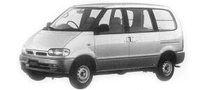 Nissan Vanette SERENA CARGO 4DOOR  1600VX 1992 г.