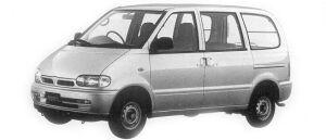 Nissan Vanette SERENA CARGO 4DOOR DIESEL 2000LX 1992 г.
