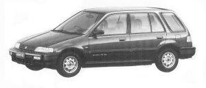 Honda Civic Shuttle 55X EXTRA 1992 г.