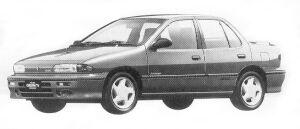 Isuzu Gemini SEDAN 1600DOHC TURBO R 1992 г.