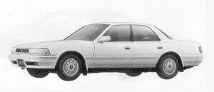 Toyota Cresta  1992 г.