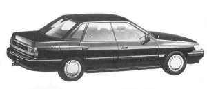 Isuzu Aska CX TYPE G 1992 г.
