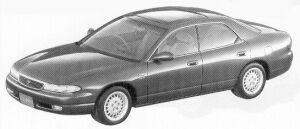 Mazda Efini MS-8 2.5 TYPE X 1992 г.
