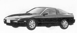 Nissan 180SX TYPE III 1992 г.