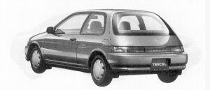 Toyota Tercel 3DOOR JOYNESS 1300EFI 1992 г.