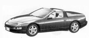 Nissan Fairlady Z CONVERTIBLE 1992 г.