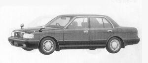 Toyota Crown SEDAN ROYAL SALOON G 1992 г.