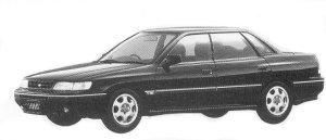 Subaru Legacy 4WD TOURING SEDAN 2.0L VZ TYPE R 1992 г.