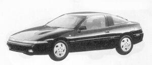 Mitsubishi Eclipse 2000 DOHC GS 1992 г.