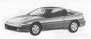 Mitsubishi Eclipse 4WD 2000DOHC TURBO GSR-4 1990 г.