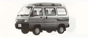 Suzuki Every SUPER MULTI ROOF RX 4WD 1990 г.