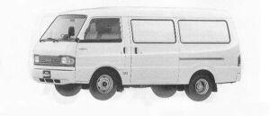 Mazda Bongo BRAWNY VAN WIDE LOW STANDARD 2200DE DX 1990 г.