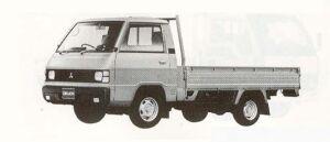 Mitsubishi Delica Truck 2500 DIESEL DX W 1990 г.