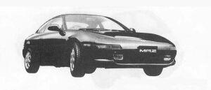 Toyota MR-2 G 1990 г.
