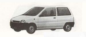 Subaru REX 3DOOR F 1990 г.