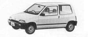 Suzuki Alto 3DOOR CE-S 1990 г.
