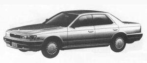 Nissan Laurel CA18 GRAND EXTRA 1990 г.