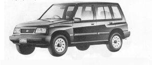 Suzuki Escudo NOMADE 1990 г.