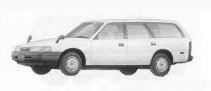 Mazda Capella CARGO 2000 DIESEL DX 1990 г.