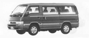 Nissan Caravan 4WD COACH DIESEL TURBO 2700 INTERCOOLER 1990 г.