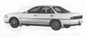 Toyota Corona Exiv 2.0FE 1990 г.