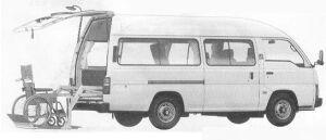 Nissan Homy VAN CHAIR CAB 1990 г.