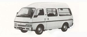 Isuzu Fargo HIGH ROOF 4DOOR 1990 г.
