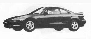 Toyota MR-2 GT T BAR ROOF 1990 г.