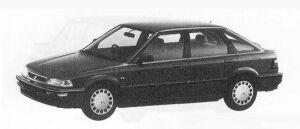 Honda Concerto 5DOOR JX-i 1990 г.