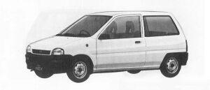 Subaru REX 3DOOR SEDAN A 1990 г.