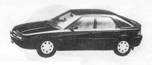 Mazda Familia ASTINA 1500DOHC 16VALVE 1990 г.