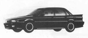 Mitsubishi Galant 2.0DOHC AMG 1990 г.