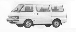 Mazda Bongo WAGON 2WD 2000 DIESEL DX 1990 г.