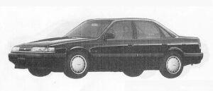 Mazda Capella 1800DOHC 1990 г.