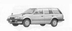 Mazda Familia VAN 4WD 1600 DX 1990 г.