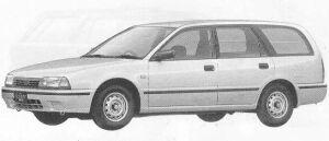 Nissan Avenir CARGO VX 1990 г.