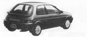 Toyota Corolla II 3DOOR 1500ZS 1990 г.