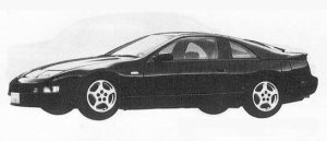 Nissan Fairlady Z 300ZX TWIN TURBO 2BY2 BAR ROOF 1990 г.