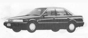 Mazda Capella 1800 SEDAN PROFILE G 1990 г.